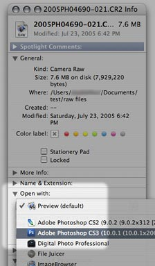 Assign Photoshop to the file type