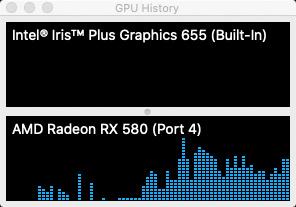 Activity Monitor GPU history