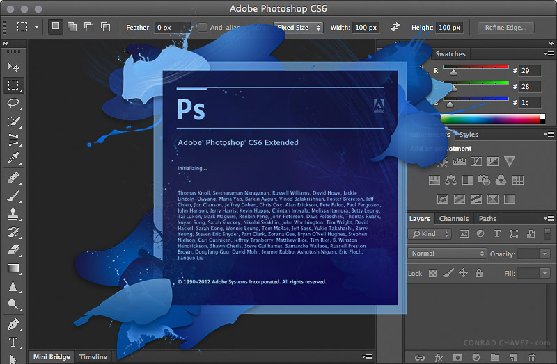 скачать adobe photoshop 2012