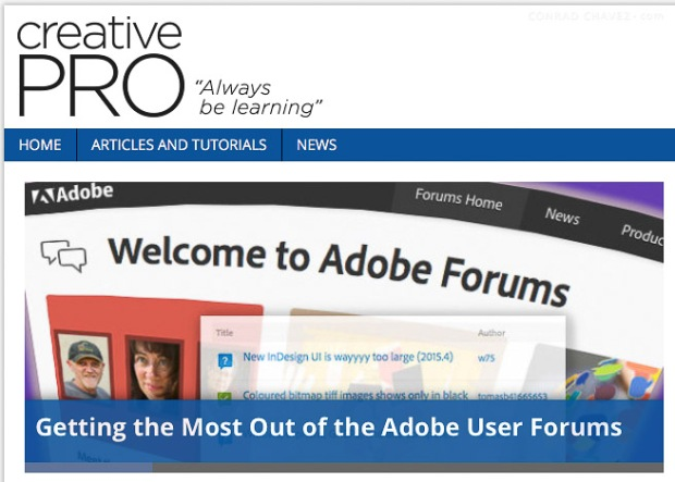 Getting the Most Out of the Adobe User Forums (featured image)