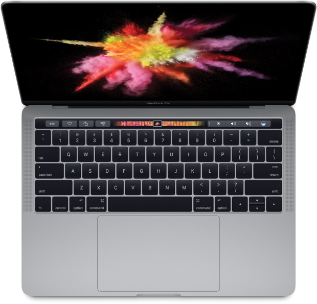 MacBook Pro 2017. Image courtesy Apple Inc.