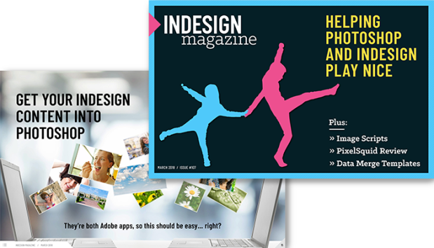 Indesign magazine conrad chavez blog from indesign to photoshop indesign magazine article fandeluxe Image collections