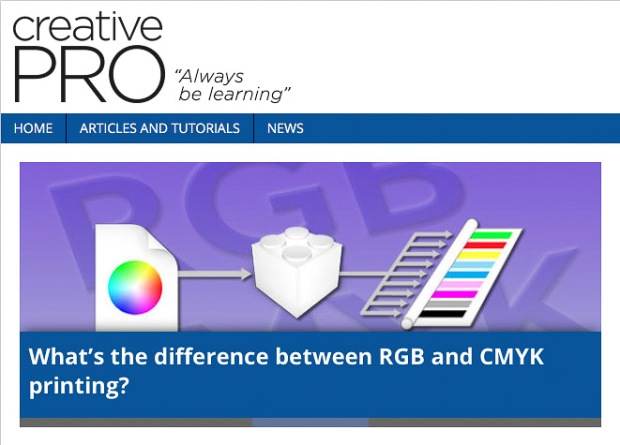 Feature image for What's the difference between RGB and CMYK printing
