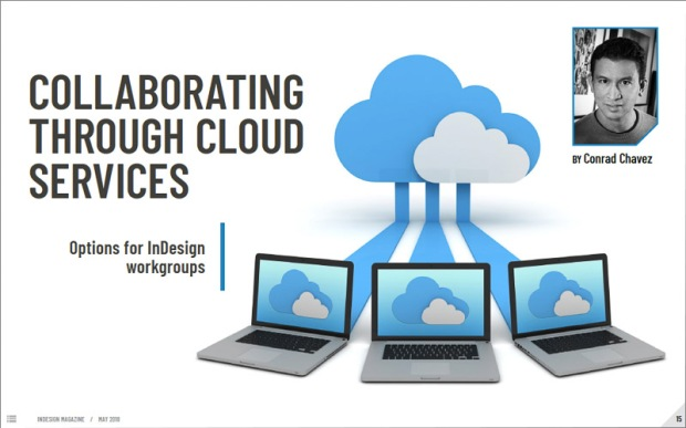 First page of article Collaborating Through Cloud Services